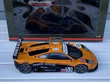 1:18 UT Models Frank Muller  McLaren F1 GTR '96' #53 Giroix Deletraz, Sala W/Box