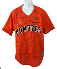 Denver Broncos Football Shirt Intensity Athletics  Button Down Orange Sz: Large