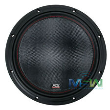 "*NEW* MTX 7512-22 12"" 75-Series DUAL 2-OHM CAR AUDIO STEREO SUB SUBWOOFER 751222"