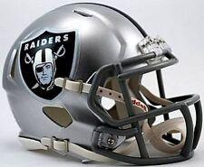 Oakland Raiders Riddell NFL Football Team Revolution SPEED Mini Helmet