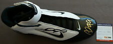 ALDON SMITH Nike Zoom Football Dual Signed Shoe PSA/DNA Certified 49er Autograph