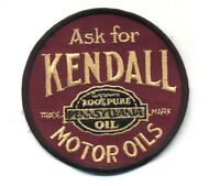 kendall patch badge motor oil pennsylvania service station hot rod iron on
