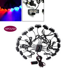 Super Bright 16pcs/Set Car Truck Modified Lights Bars For Front Deck Dash Grille