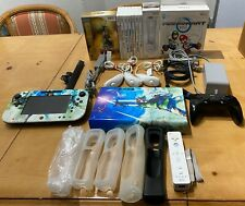 Nintendo Wii U 32GB Black Console WUP-101(02) +LoZ Skyward Sword Limited Edition