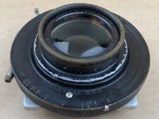 "GOERZ 14"" Inch DAGOR F/7.7 Large Format Series III No.7 Lens w/ Betax V Shutter"