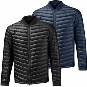 Mizuno Golf Mens Move Warmer Full Zip Quilted Stretch Golf Jacket