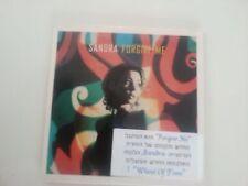 SANDRA forgive me  MEGA RARE DELETED  ISRAELI 1TR PROMO SINGLE CD