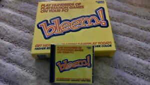 Bleem! for PC - Retro Gaming - Boxed - Very Good Condition. ** RARE **