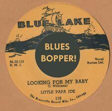 R&B REPRO: LITTLE PAPA JOE - Looking For My Baby/Easy Lovin' BLUE LAKE