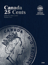 Whitman Canadian 25 Cent Coin Folder 1991-2000 Volume 4 #2484