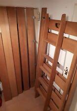 Paidi Varietta Hochbett 183 cm hoch Buche mit schräger Leiter