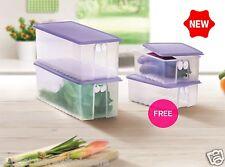 New Tupperware FridgeSmart Large (2) 4.6L Medium (2) 1.6L Buy 2 Free 2