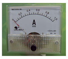 85C1-A Class 2.5 Accuracy DC 0-1A Analog Ammeter Current Panel Meter Gauge Tool