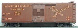 ATHEARN CUSTOM ROADRUNNER NMRA 40' WOOD BOXCAR RTR MW KD's CAR # 4277