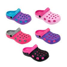 Girls Kids Beach Garden Clogs Water Shoes Summer Pool Slip on Sandal Slippers