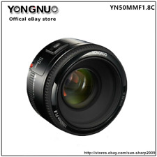 YONGNUO YN50MM F1.8 Large Aperture Auto Focus Lens For Canon EF Mount EOS Camera