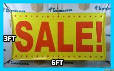 SALE  3' x 6' Banner Sign NEW FOR Largest Size NOW Highest Quality 3 ft X 6 ft