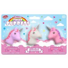 Unicorn dedo Títeres - 28407 Classic Colores Brillo Polvo de ángel de pétalos de juguete