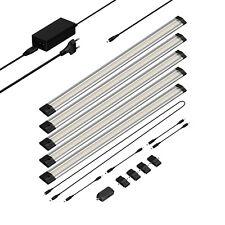 LED Unterbau-Leuchte Siris, Infrarot-Sensor, flach, je 50cm, 400lm, warm-weiß, 5