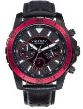 Reloj Viceroy Sportif Hombre 40467-77 Cronógrafo Acero IP Negro