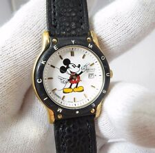 """MICKEY MOUSE,Seiko,7N82-6859,""""Date/Just Dial"""" ,LADIES CHARACTER WATCH,1214,L@@K"""