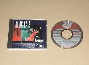 ABC - The Lexicon Of Love, CD Album (reissue) Europe 1986 (810003-2) Ex/Vg+ Pop