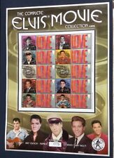 The Complete ELVIS  PRESLEY Movie Collection 1962-64. Collectable Stamp Sheet.