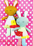 PATTERN - Goodnight Bunny - cute softie toy rabbit PATTERN - Two Brown Birds