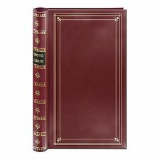 Pioneer BDP-35 Spiral 4x6 Photo Album Burgundy (Same Shipping Any Qty)