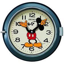 Disney Mickey Mouse SEIKO analog Blue Wall Clock FS504L Quartz Dustproof