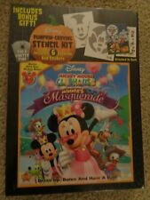 Mickey Mouse Clubhouse: Minnie's Masquerade + Stencils (DVD, 2011) 786936809374