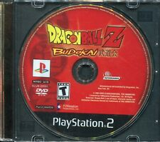 DragonBall Z Budokai (PlayStation 2, PS2) Disk Only!