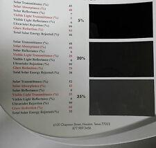 Auto Tint NR Black 50% 20'' x 100' Car Window Film Roll