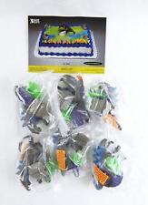 1998 Bakery Crafts Set of Six Godzilla Cake Toppers.