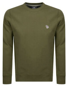 Paul Smith Mens Size M Dark Green Crew Neck Sweater