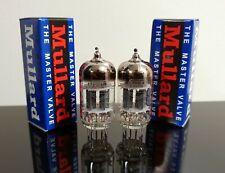 Matched Pair (2) Mullard ECC82/12AU7 tubes - Russia