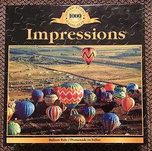 Sure-Lox Impressions 1000 pc Puzzle - Ballon Ride - NEW SEALED