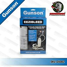 Gunson EEZIBLEED Brake & Clutch Fluid Hydraulic Bleeding Kit