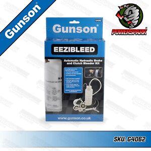 Gunson EEZIBLEED Brake & Clutch Fluid Hydraulic Bleeding Kit