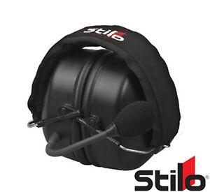 Stilo WRC DES Road Headset for wrc / ST-30 Intercoms - Practice/Race/Rally