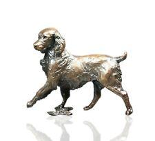 More details for bronze spring spaniel dog - ltd ed 150 michael simpson.