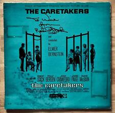 Robert Stack Autograph Actor In The Untouchables Signed The Caretakers Lp Jacket