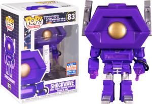 2021 FunKon Transformers (1984) - Shockwave Pop! Vinyl + POP PROTECTOR