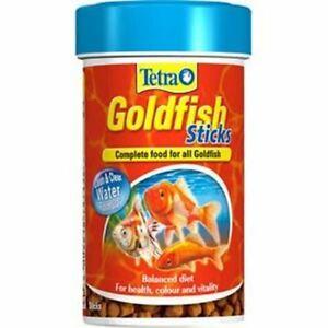 Tetra Fish Food Goldfish Food Sticks Complete Fish Food for All Goldfish 34g