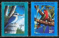 French Polynesia 1991 Birds Parrots set of 2 MNH**