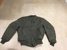 cvc, bomber jacket, new old stock us made,SMALL  long,1991,100% aramid