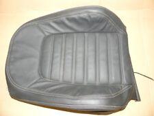 VW Scirocco 3 Beifahrersitz Lehnenbezug Leder schwarz Sitzh