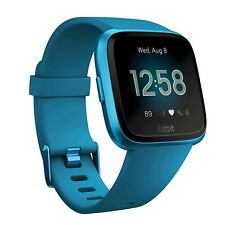 Fitbit Versa Lite Special Edition Fitness Tracker Activity Blue Band Smartwatch