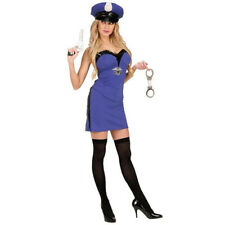 Ladies Sexy Police Woman Fancy Dress Costume Cop Officer Hen Night NEW