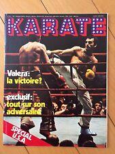 ► REVUE KARATE N°61 - 1980 - VALERA - SPECIAL USA - SATORU NINO